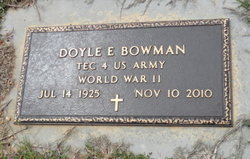 Doyle Ervin Bowman