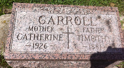 Catherine Kate <i>Hollon</i> Carroll