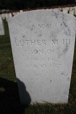 Luther M Harrison, III
