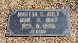 Martha Ann <i>Stockdale</i> Ault