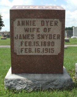 Annie <i>Dyer</i> Snyder