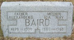 Ida May <i>Whisler</i> Baird