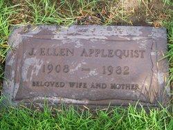 Jenny Ellen <i>Williams</i> Applequist
