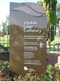 Lilydale Lawn Cemetery