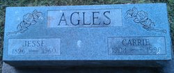 Carrie Evelyn <i>Glenn</i> Agles