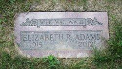 Elizabeth R. <i>Hartert</i> Adams