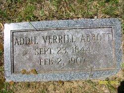 Ada Olive Addie <i>Verrill</i> Abbott