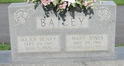 Maj Henry L Bailey