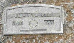 Hermine H. Minnie <i>Adams</i> Holt