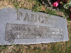 Minnie Emily <i>Smith</i> Padgett