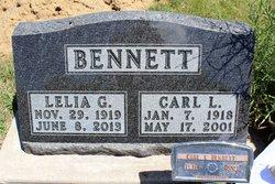 Lelia Grace <i>Fuller.</i> Bennett