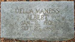 Della <i>Maness</i> Albert