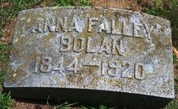 Anna <i>Falley</i> Bolan