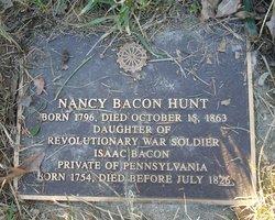 Nancy <i>Bacon</i> Hunt