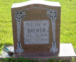 Thelma Mildred <i>Farris</i> Brewer