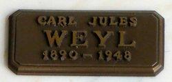 Carl Jules Weyl