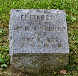 Elizabeth <i>Dealy</i> Reeder