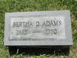 Bertha Clay <i>Davis</i> Adams