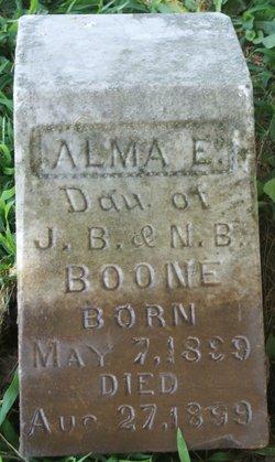 Alma E. Boone