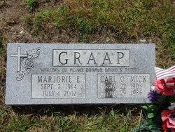 Marjorie E. <i>Marx</i> Graap