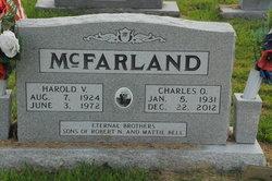 Harold V McFarland