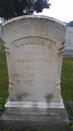 Hannah J Flye