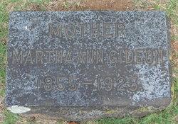 Martha Ann Gideon