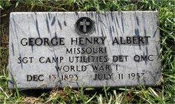 Sgt George Henry Albert
