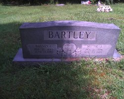 Mittie Jane Tubby <i>Wilson</i> Bartley
