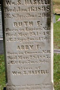 Abby Folansburg <i>Fales</i> Haskell