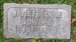 Janet <i>Payne</i> Bowles