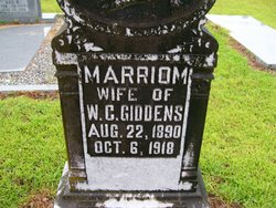 Marriom Giddens