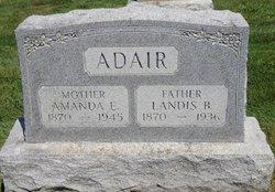 Amanda E. <i>Mathers</i> Adair
