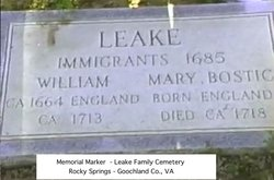 William Leake, I