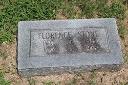 Florence <i>Peggram</i> Stone