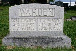 Keziah Elzina Elizabeth Kizzie <i>Keith</i> Warden