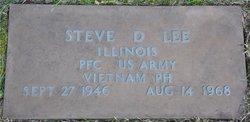 PFC Steve Donald Lee