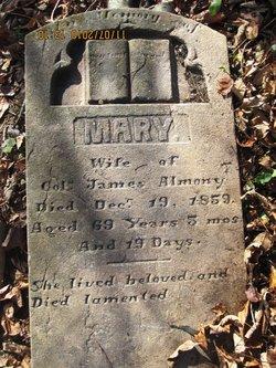 Mary <i>Sutton</i> Almony