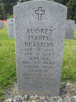 Audrey Isabelle <i>Verney</i> Beaston