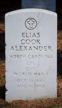 Elias Cook Alexander