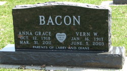 Anna Grace <i>Blakley</i> Bacon