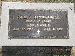 Carl Thomas Davidson, Jr