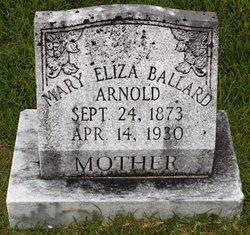 Mary Eliza <i>Ballard</i> Arnold