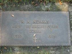 R A Adams