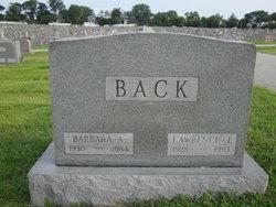 Barbara Ann <i>Runge</i> Back