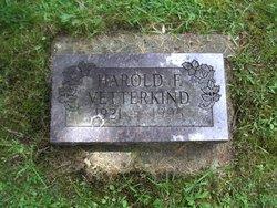Harold F. Vetterkind