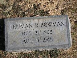 Truman Reynolds Bowman