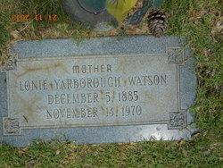 Lonie Belle <i>Yarborough</i> Watson