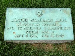 PFC Jacob Wallman Abel