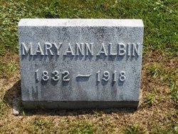 Mary Ann Albin